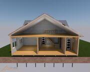 Проект реконструкции дома Губино 216