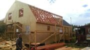 Проект реконструкции дома Борисовка 13