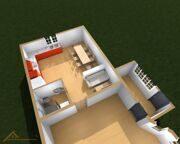 Проект реконструкции дома Богдановка 18