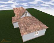 Проект реконструкции дома Богдановка 20