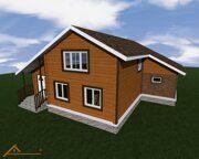 Проект реконструкции дома в деревне Юрасово 4