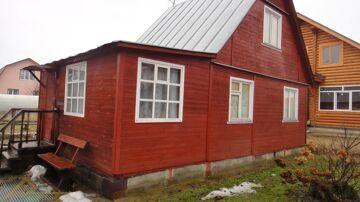 Проект реконструкции дома Борисовка 9