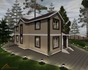 Проект дома 378,4 м2 10