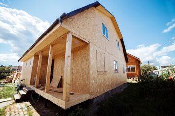 Проект реконструкции дома Борисовка 20