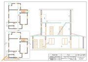 Проект реконструкции дома Истринский район 8