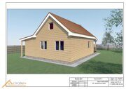 Проект реконструкции дома в Ошейкино 16