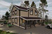 Проект дома 378,4 м2 8
