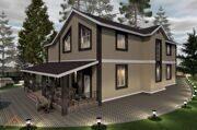 Проект дома 378,4 м2 9