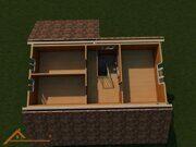 Проект реконструкции дома в деревне Юрасово 10