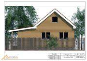 Проект реконструкции дома в Ошейкино 17