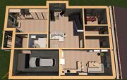 Проект дома 378,4 м2 5