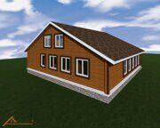 Проект реконструкции дома в деревне Юрасово 7