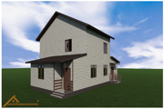 Проект реконструкции дома Истринский район 1