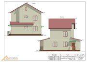 Проект реконструкции дома Истринский район 9